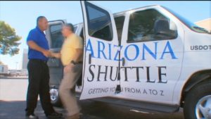 AIRPORT SHUTTLE SERVICES TELEVISION COMMERCIALS