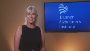 This is a picture from a training video that we did for Banner Alzheimer's Institute In Phoenix, Arizona.